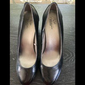 Life stride Work life with Memory Foam Black Heels